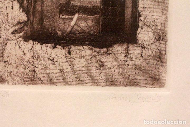 Arte: RAFAEL GONZALEZ ROMERO, SEVILLA. LITOGRAFIA FIRMADA A MANO Y NUMERADA. 11/25. DIFICIL! - Foto 2 - 77462085