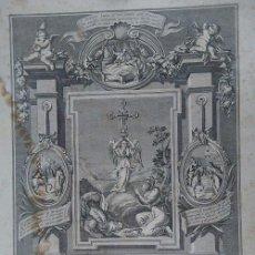 Arte: VERDADERO RETRATO DE LA MILAGROSA IMAGEN DE S. MIGUEL DE EXCELSIS MONTE ARALAR NAVARRA 1879. Lote 77495465