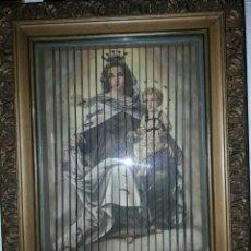 Arte: TRIPTICO RELIGIOSO, MUY ANTIGUO, GRAN CALIDAD, MUY BONITO Y ENMARCADO.. Lote 78902694