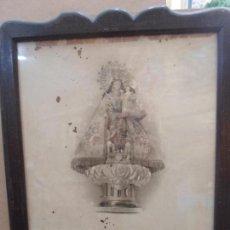 Arte: LITOGRAFIA ANTIGUA DE LA VIRGEN DE LOS DESAMPARADOS AÑO 1948. Lote 79024157