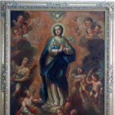 Arte: OLEO LIENZO INMACULADA ISIDORO DE TAPIA (VALENCIA 1712 - MADRID 1778) XVIII. Lote 79263621