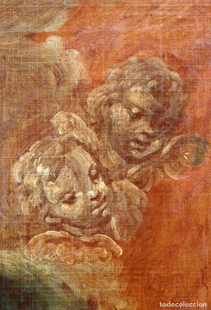 Arte: Oleo lienzo Inmaculada Isidoro de Tapia (Valencia 1712 - Madrid 1778) XVIII - Foto 7 - 79263621