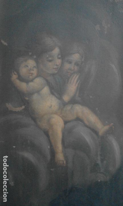 Arte: INMACULADA. OLEO SOBRE COBRE 57X43,8. ESCUELA ITALIANA SIGLO XVII - Foto 5 - 70104361
