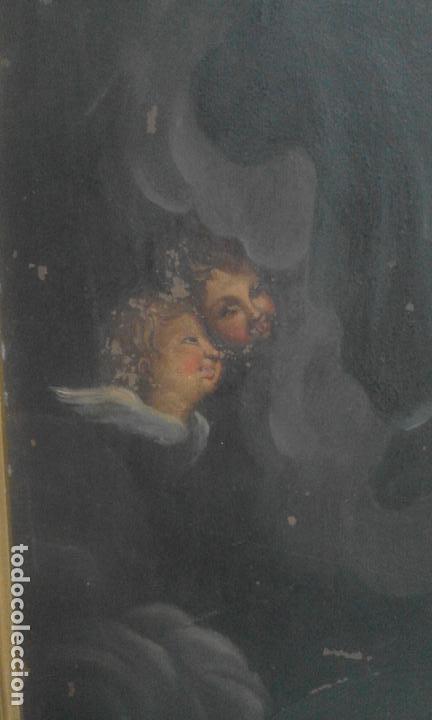Arte: INMACULADA. OLEO SOBRE COBRE 57X43,8. ESCUELA ITALIANA SIGLO XVII - Foto 6 - 70104361