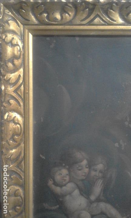 Arte: INMACULADA. OLEO SOBRE COBRE 57X43,8. ESCUELA ITALIANA SIGLO XVII - Foto 10 - 70104361