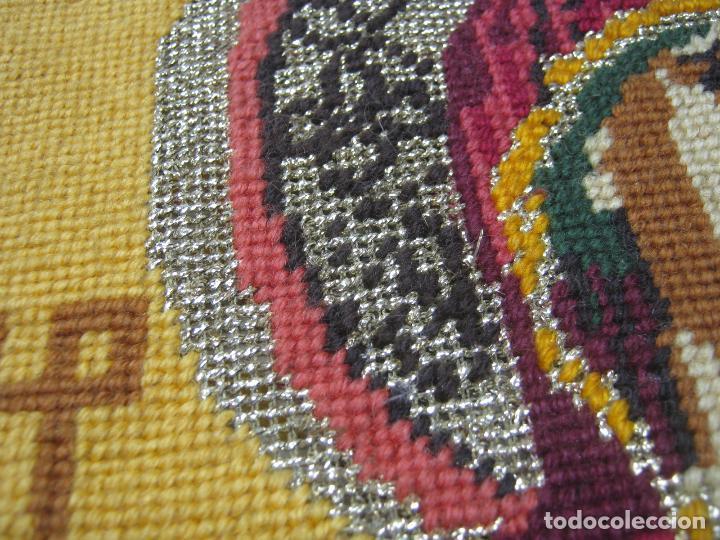 Arte: Espectacular icono en punto de cruz - Virgen del Perpetuo Socorro - bello marco - Foto 3 - 80303825