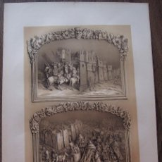 Arte: RELIEVES EN MADERA DE LA SILLERIA BAJA DEL CORO DE LA CATEDRAL DE TOLEDO. Lote 80353789