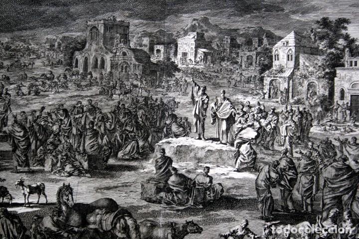 Arte: 1729 - BIBLIA - 9ª PLAGA DE EGIPTO - TINIEBLAS Y OSCURIDAD - LUYKEN - ENGRAVING - GRAVURE - Foto 3 - 80630266