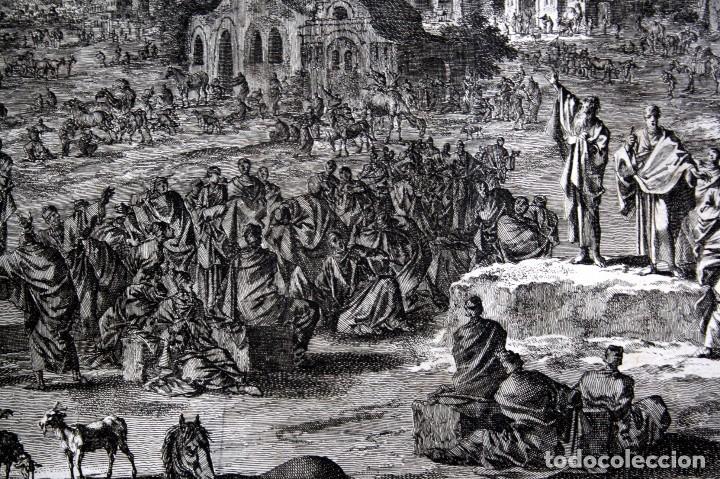Arte: 1729 - BIBLIA - 9ª PLAGA DE EGIPTO - TINIEBLAS Y OSCURIDAD - LUYKEN - ENGRAVING - GRAVURE - Foto 8 - 80630266