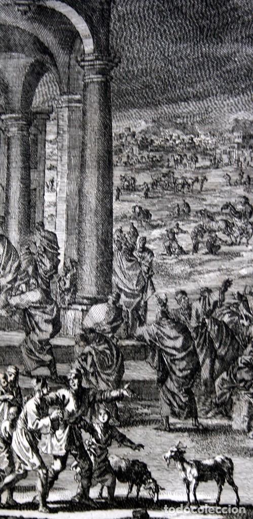 Arte: 1729 - BIBLIA - 9ª PLAGA DE EGIPTO - TINIEBLAS Y OSCURIDAD - LUYKEN - ENGRAVING - GRAVURE - Foto 9 - 80630266