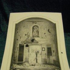 Arte: LITOGRAFÍA VIRGEN DE LOS DESAMPARADOS BOMBARDEO DE VALENCIA OCTUBRE DE 1869 MUY RARA SIGLO XIX. Lote 80824703