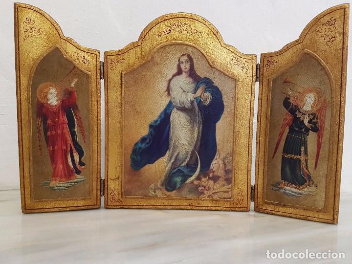 TRIPTICO RELIGIOSO (Arte - Arte Religioso - Trípticos)