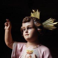 Arte: LAS ARTES RELIGIOSAS SAGRADO CORAZON INFANTE. Lote 80906432