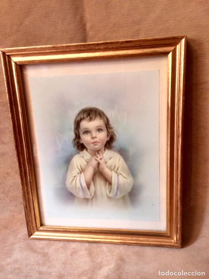cuadro de niño jesus enmarcado en oro de los añ - Comprar en ...