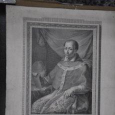 Arte: GRABADO DE FRANCISCO MUNTANER EN 1791 , RETRATO DE D. ANTONIO AGUSTIN , ZARAGOZA. Lote 81214084
