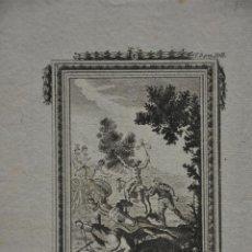 Arte: ANTIGUO GRABADO DON QUIJOTE DE N. COBO . DEL S. XIX . Lote 81219548