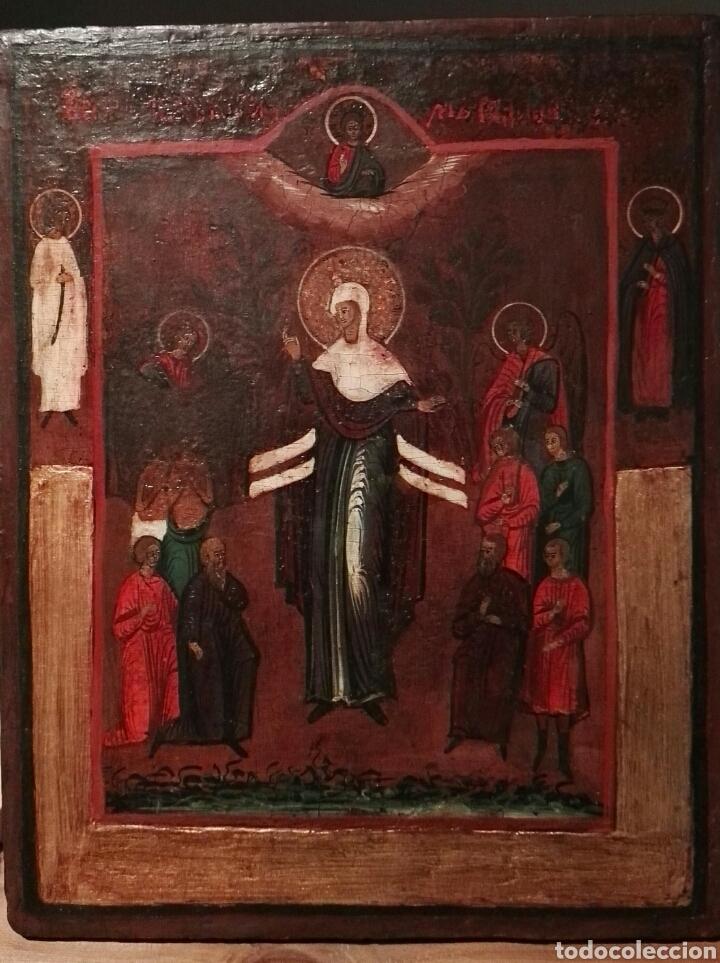 ICONO RUSO SIGLO XIX (Arte - Arte Religioso - Iconos)