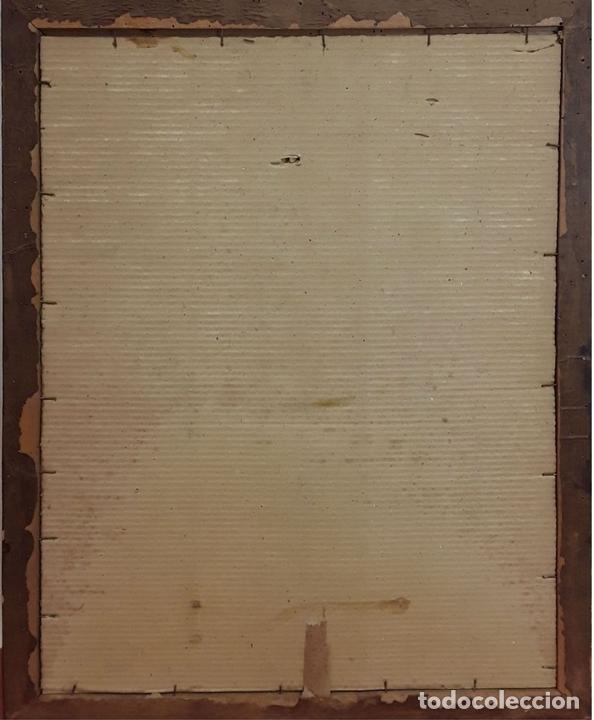 Arte: CALLE ANTIGUA. ACUARELA. RAMON MARTÍ FARRERAS (?). GIRONA. ESPAÑA (?). 1952. - Foto 5 - 81280000