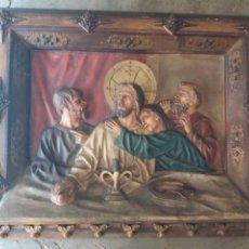 Arte: MAGNIFICO ALTORELIEVE RELIGIOSO DE SUCESORES DE VDA REIXACH (BARCELONA). Lote 81317687