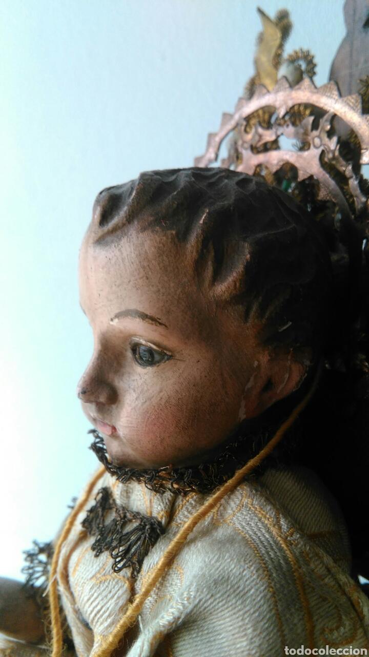 Arte: NIÑO JESUS TALLA DE MADERA - Foto 6 - 81344975