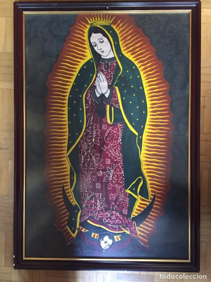 Arte: Cuadro Nuestra Señora de Guadalupe (México) - Foto 2 - 81824492