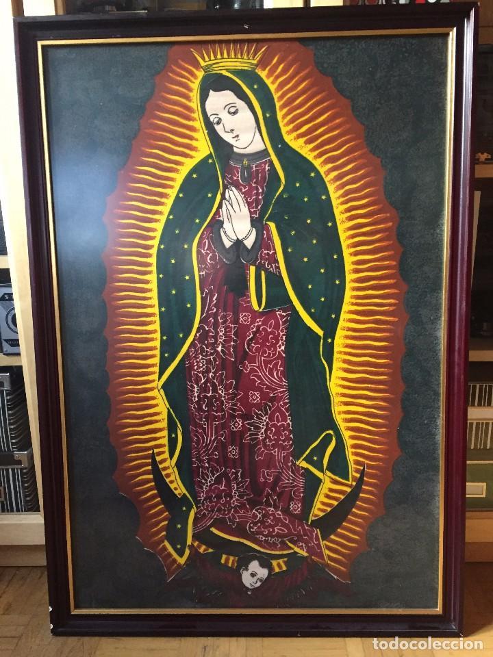 Arte: Cuadro Nuestra Señora de Guadalupe (México) - Foto 3 - 81824492