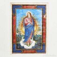 Arte: PRECIOSA INMACULADA DEL SIGLO XVI - XVII. Lote 82108396