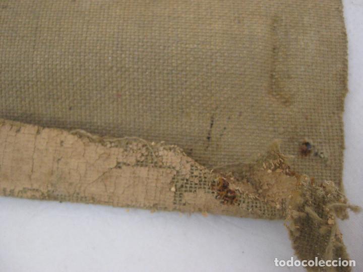 Arte: BONITA PINTURA AL OLEO ANTIGUA IMAGEN VIRGEN O MARIA MAGDALENA ? CON MANTILLA REZANDO ANTIGUO - Foto 4 - 82266664