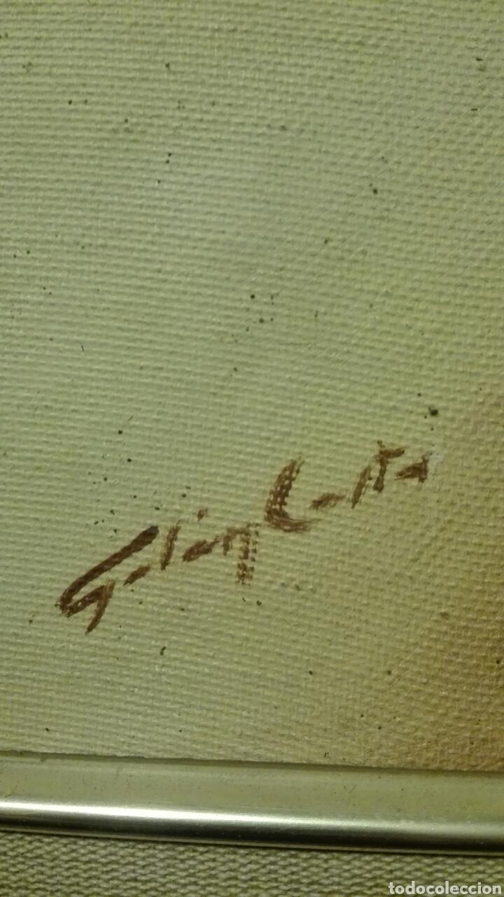 Arte: oleo sobre tabla,rostro cristo crucificado del pintor canario galan costa - Foto 2 - 82358174