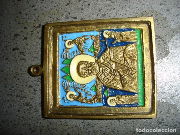 Arte: precioso lote de tres iconos - Foto 4 - 97226779
