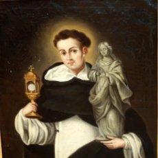 Arte: FRAY MANUEL BAYEU SUBIAS (ZARAGOZA, 1740 - 1808) OLEO SOBRE TELA. SAN JACINTO. CON INFORME COMPLETO. Lote 82824964