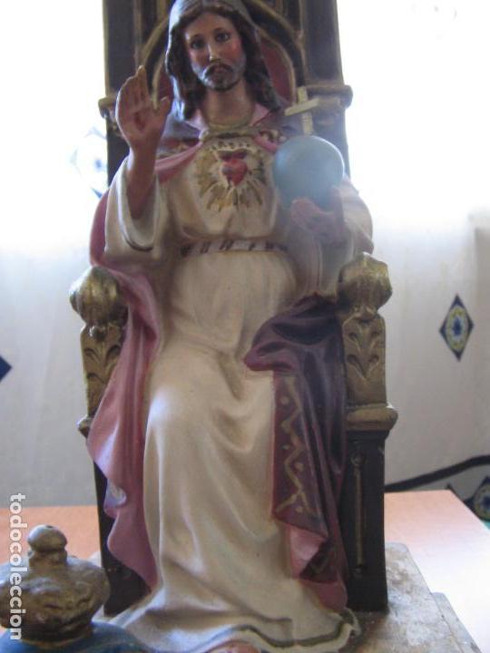 Arte: SAGRADO CORAZON DE JESUS - Foto 2 - 149464930