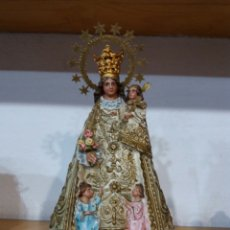 Arte: VIRGEN DE LOS DESAMPARADOS DE 20 CM. Lote 130392520