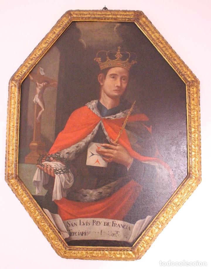 PRECIOSO CUADRO RELIGIOSO DEL SIGLO XVIII MALLORQUÍN (Arte - Arte Religioso - Pintura Religiosa - Oleo)