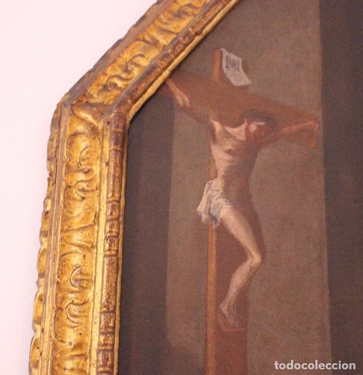 Arte: PRECIOSO CUADRO RELIGIOSO DEL SIGLO XVIII MALLORQUÍN - Foto 3 - 83283192