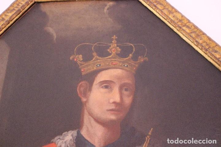 Arte: PRECIOSO CUADRO RELIGIOSO DEL SIGLO XVIII MALLORQUÍN - Foto 4 - 83283192