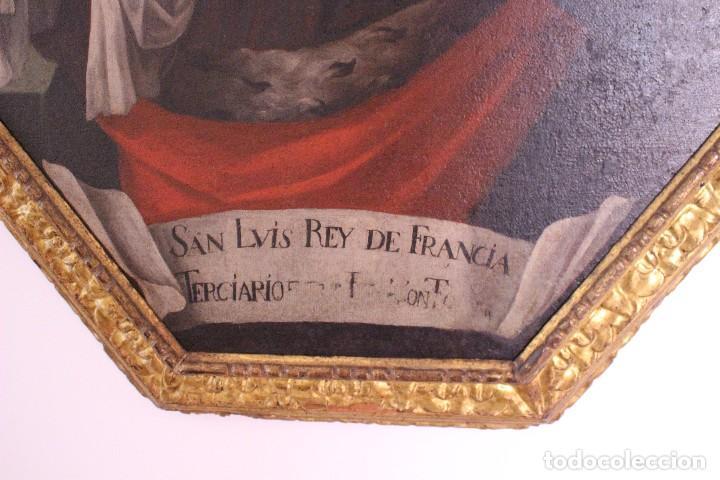 Arte: PRECIOSO CUADRO RELIGIOSO DEL SIGLO XVIII MALLORQUÍN - Foto 5 - 83283192