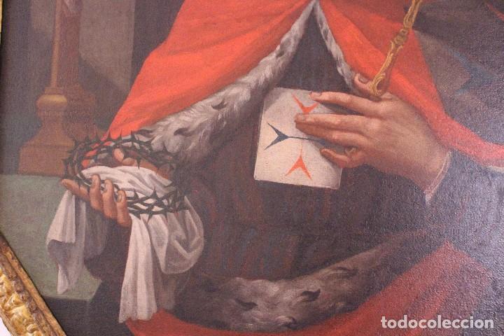 Arte: PRECIOSO CUADRO RELIGIOSO DEL SIGLO XVIII MALLORQUÍN - Foto 6 - 83283192