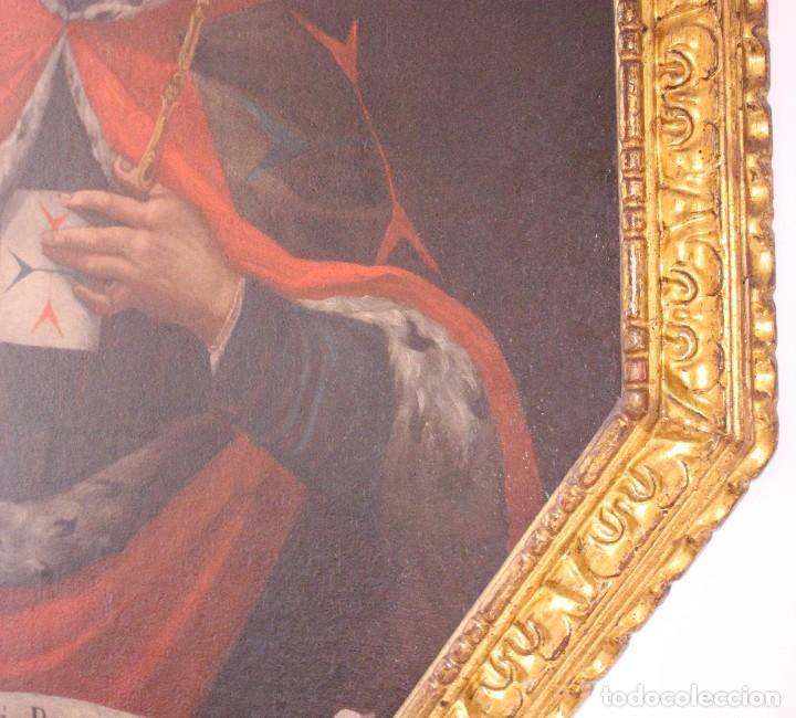 Arte: PRECIOSO CUADRO RELIGIOSO DEL SIGLO XVIII MALLORQUÍN - Foto 8 - 83283192