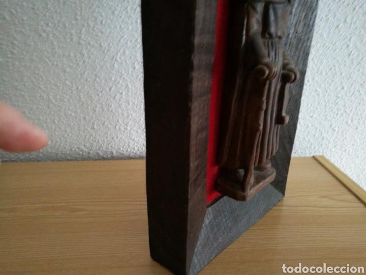 Arte: Retablo de peregrino Santiago. Del artesano murciano Ortigas mide 32 cm - Foto 3 - 83570584