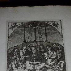Arte: GRABADO NTRO PADRE JESUS DE LA BUENA MUERTE - JOSE MARIA MARTIN - GRABADOR SEVILLANO SIGLO XIX. Lote 83851604