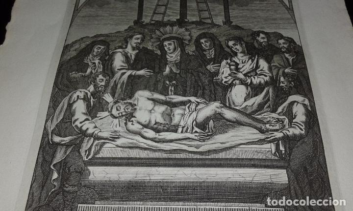 Arte: GRABADO NTRO PADRE JESUS DE LA BUENA MUERTE - JOSE MARIA MARTIN - GRABADOR SEVILLANO SIGLO XIX - Foto 2 - 83851604