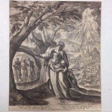 Arte: GRABADO RELIGIOSO ANTIGUO DE RAPHAEL SADLER 1530-1632 SAEDLER CHOLERICUS Nº6. Lote 83916900