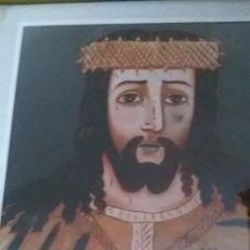Arte: CUADRO COPIA LITOGRAFIA DE ESCUELA ECCE SIGLO XXI.. Lote 83971328