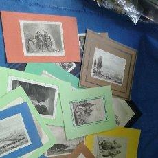 Arte: LOTE CON 14 GRABADOS ANTIGUOS LA MALLORIA DE LEMAITRE SIGLO XIX - VER FOTOS DE TODOS. Lote 84106004