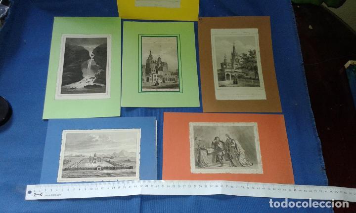 Arte: LOTE CON 14 GRABADOS ANTIGUOS LA MALLORIA DE LEMAITRE SIGLO XIX - VER FOTOS DE TODOS - Foto 4 - 84106004