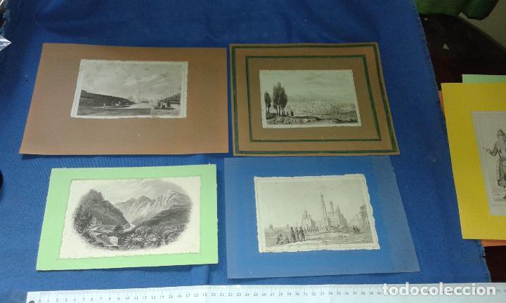 Arte: LOTE CON 14 GRABADOS ANTIGUOS LA MALLORIA DE LEMAITRE SIGLO XIX - VER FOTOS DE TODOS - Foto 5 - 84106004