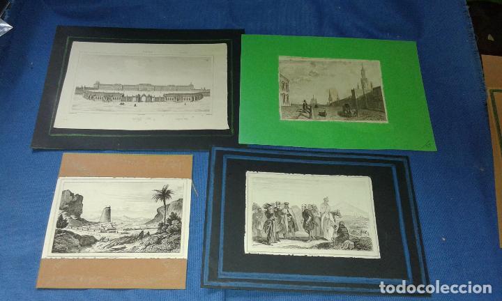 Arte: LOTE CON 14 GRABADOS ANTIGUOS LA MALLORIA DE LEMAITRE SIGLO XIX - VER FOTOS DE TODOS - Foto 6 - 84106004