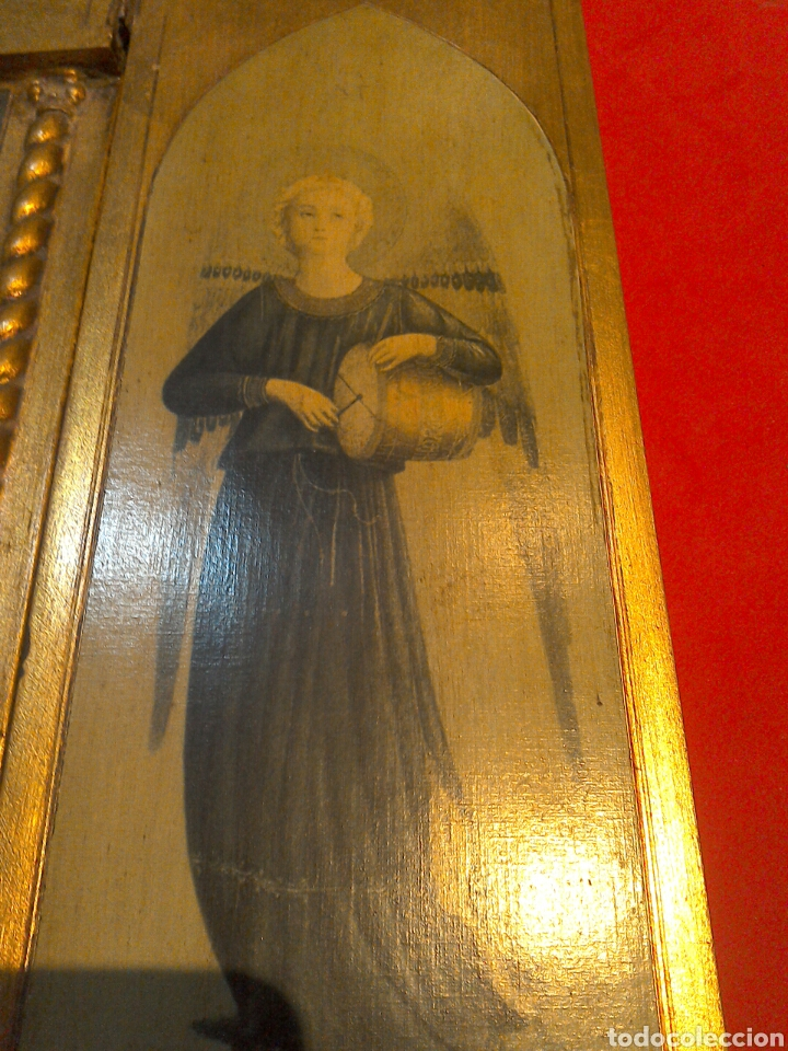 Arte: Gran tríptico religioso finales s.XIX - Foto 3 - 84708635