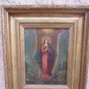 Arte: VIRGEN INMACULADA SIGLO XVII - OLEO SOBRE PLANCHA DE COBRE -. Lote 84957896